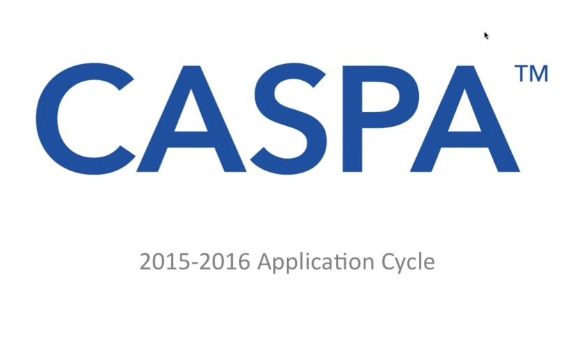 Navigating CASPA